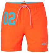Superdry zwemshort met zakken oranje