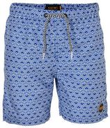 Shiwi zwemshort met all over print blauw