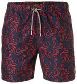 Shiwi zwemshort met all over print marine
