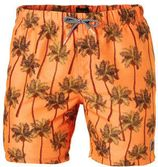 Shiwi zwemshort met all over print oranje