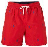 POLO Ralph Lauren zwemshort met borduur print rood
