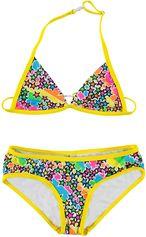 Just Beach gele kinder bikini Paris Star Multi color