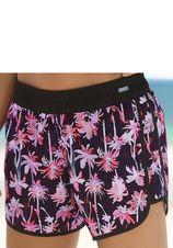 Venice Beach zwemshort met palm print