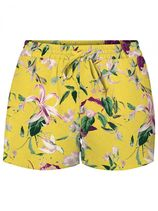 VERO MODA 2-pack Shorts Dames Geel