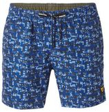 PME Legend zwemshort met all over print blauw