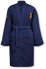 Ralph Lauren Big Polo Player badjas van katoen