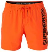 Superdry Sport zwemshort oranje