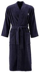 POLO Ralph Lauren badstof badjas donkerblauw