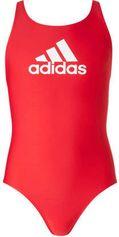 adidas performance sportbadpak met merk logo rood