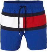 Tommy Hilfiger zwemshort colourblock donkerblauw