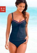 s.Oliver RED LABEL Beachwear beugeltankini met gehaakt randje