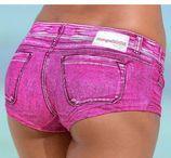 KangaROOS Bikini-hotpants PATTY in trendy jeans-look