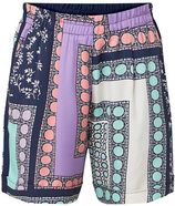 Marc O'Polo High rise loose fit shorts met dessin