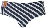 MAAJI bikinibroekje reversible in een all over print zwart