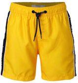NIK&NIK zwemshort Yuri met brede zijbies geel