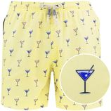 venice cocktail zwemshort geel