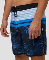 Hurley phantom aloha twist boardshort 18-inch blauw heren