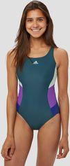 Adidas fit colorblock badpak grijs/paars dames