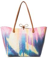 Desigual reversable shopper roze