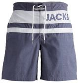 JACK & JONES, Heren Zwemshorts, blauw