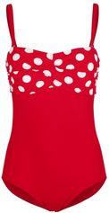 Badpak Maritim rood/wit
