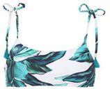 Baku Australia bikinitop Oahu met all over print blauw