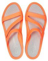 Crocs Swiftwater Sandals slippers oranje