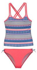 Protest tankini Leoni JR met all over print roze