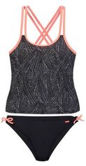 Protest tankini Leoni JR met all over print zwart