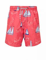Snapper Rock - Zwembroek jongen Island Sail - Rood