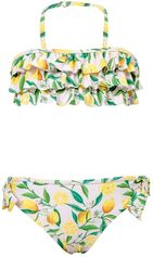 Snapper Rock - Bikini ruches Lemon - Geel