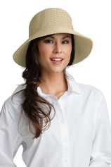 Coolibar - UV Marina zonnehoed voor dames - Natural