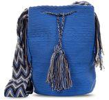 Wayuu Mochila Tas Blauw