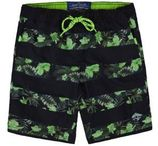 WE Fashion zwemshort met all over print groen