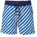Scotch & Soda zwemshort blauw/wit