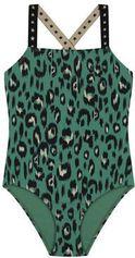 Shiwi badpak Luxe Leopard groen/zwart