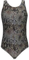 SuperRebel badpak slangenprint