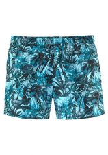 Hom zwemshort met tropische print