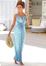 Lascana maxi-jurk met batikprint