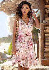 s.Oliver Beachwear gedessineerde jurk