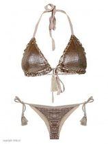 Bikini Triangle Gold Luxury