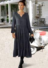 Lascana maxi-jurk met all-over print