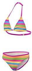 BECO triangelbikini pop colour, gevoerd, multi color, maat 152
