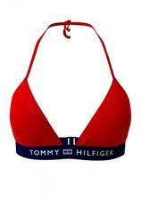 Tommy Hilfiger triangel-bikinitop met logoband