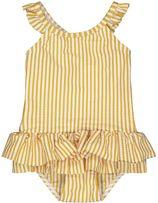 HEMA Baby Badpak Structuur Geel (geel)