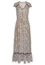 Lascana maxi-jurk met dierenprint