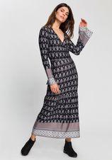 Boysen's Midi-jurk met leuk randdessin