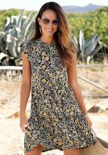 Lascana gedessineerde jurk