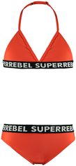 SuperRebel KidsGear triangle bikini