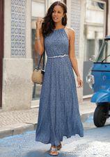 Lascana maxi-jurk met print all-over